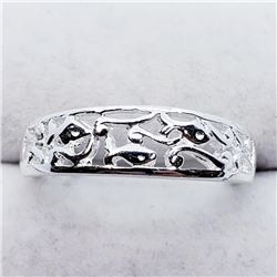 Silver Ring (~weight 2.8g), Suggested Retail Value $80