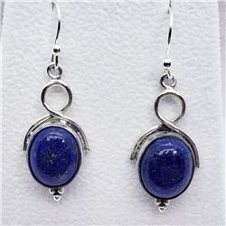 Silver Lapis Lazuli Earrings, Suggested Retail Value $120
