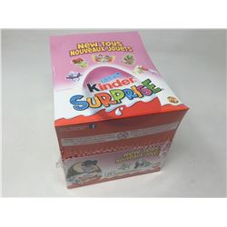 Case of Kinder Surprise Eggs with Toys (24 ct)