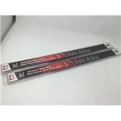Set of 21 inch All Season Wiper Blades (2ct)