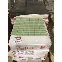 """DaltileStacked Glossy Glass Tile 1"""" x 2"""" x 4mm (20 SF)"""