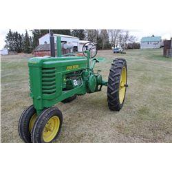John Deere B Gas Tractor