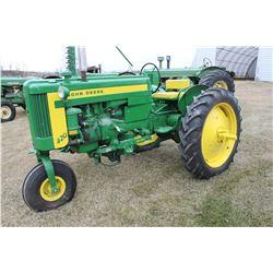 John Deere 420 Tractor c/w Mower
