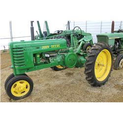 1940 John Deere H Row Crop Tractor