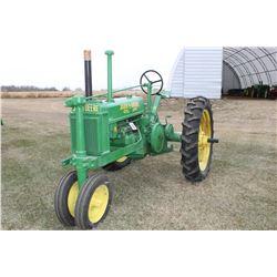 John Deere B Row Crop Tractor