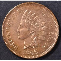 1865 INDIAN CENT AU