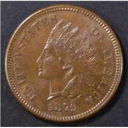 1879 INDIAN CENT AU/BU
