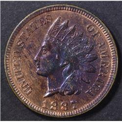 1887 INDIAN CENT BU