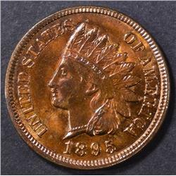 1895 INDIAN CENT GEM BU RB