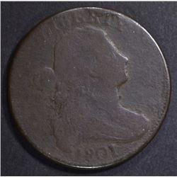 1801 LARGE CENT GOOD SOME POROSITY