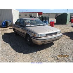 1992 - TOYOTA COROLLA/RESTORED SALVAGE