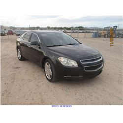 2012 - CHEVROLET MALIBU/SALVAGE TITLE