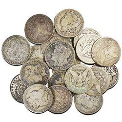20 pcs. Random Date Morgan Silver Dollars
