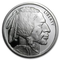 FIVE oz. Silver Buffalo Round - .999 Pure