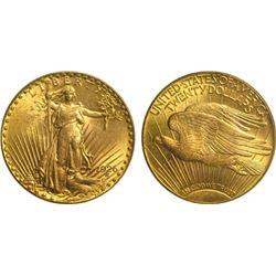 1926 $20 Gold Saint Gaudens - AU Grade