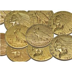 (1) Random Date $5 Gold Indian XF Grade
