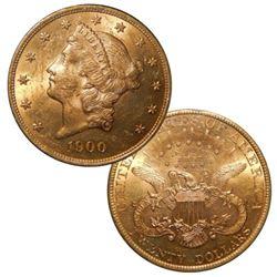 1900 P $ 20 Gold Double Eagle Liberty