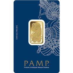 10 Gram Pamp Suisse Gold Bar