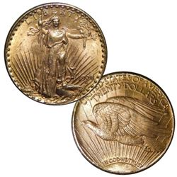 1928 $20 Gold Saint Gauden's Double Eagle