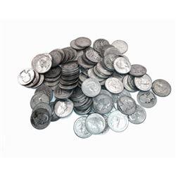 50- Washington Quarters - 90% Silver