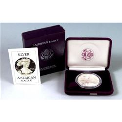 1986 US Silver Proof First Year
