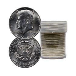 Roll of 20 Kennedy Half Dollars-90% Silver