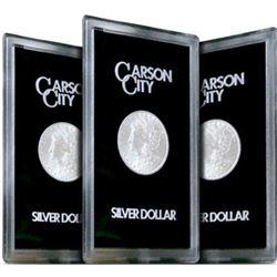 1882-83-84 Carson City GSA Morgan Silver Dollars