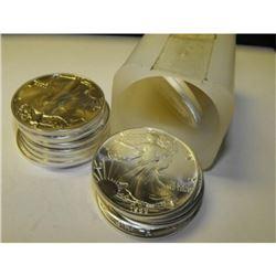 (20) US SIlver Eagle Bullion Coins