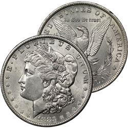 1883 P BU Morgan Silver Dollar