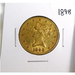 1898 $10 Gold Liberty Eagle