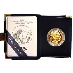 2006 Gold Buffalo Proof 1st Year Issue 1 oz.
