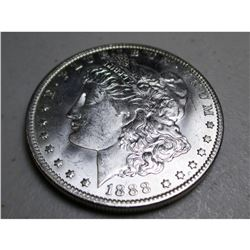 1888 O BU Better Date Morgan Dollar