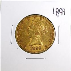 1899 $10 Gold Liberty Eagle