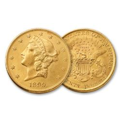 1899 P $20 Gold Liberty High Grade