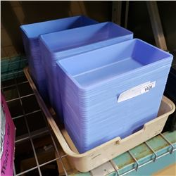 LARGE LOT OF SMALL PLASTIC BINS