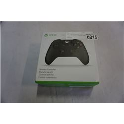 XBOX ONE WIRELESS CONTROLLER BLACK IN BOX -STORE RETURN, UNTESTED