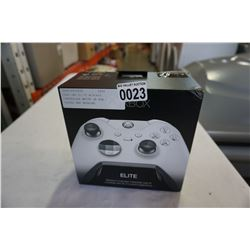 XBOX ONE ELITE WIRLESS CONTROLLER WHITE IN BOX -STORE RETURN, UNTESTED