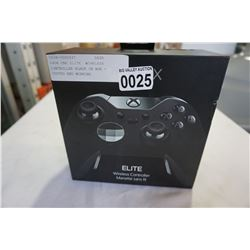 XBOX ONE ELITE WIRELESS CONTROLLER BLACK IN BOX -STORE RETURN, UNTESTED
