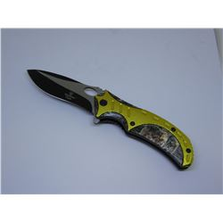 Snake Eye Tactical Spring Assist Knife 4.75 inches Closed
