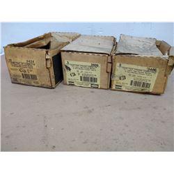 LOT RACO 3406/3424 LIQUID-TIGHT CONNECTORS