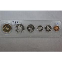 Canada Coin Set - 1988