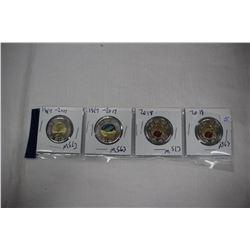 Canada Toonie Coins (4)
