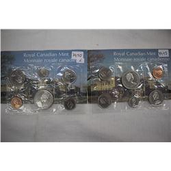 Caanada Mint Coin Sets (2) - 1970 & 1973