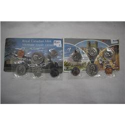 Caanada Mint Coin Sets (2) - 1977 & 1979
