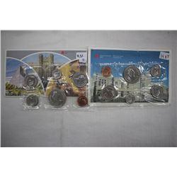 Caanada Mint Coin Sets (2) - 1983 & 1987