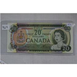 Canada Twenty Dollar Bill (1)