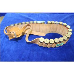 Shotshell Belt with 24 - 12 ga. rnds