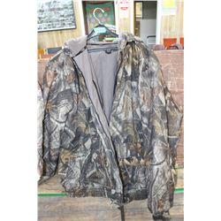 Camo Jacket - Needs a zipper - 2XXL