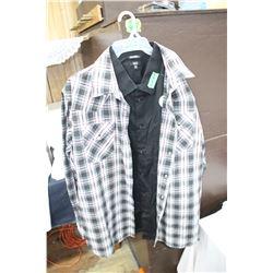 Western Shirts (2) 2XXL