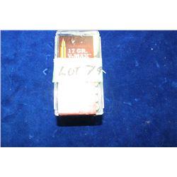 Box of 17 HMR Live Ammo
